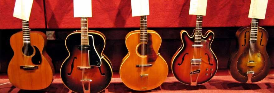 accorder une guitare folk