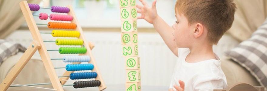 matériel d'activité Montessori