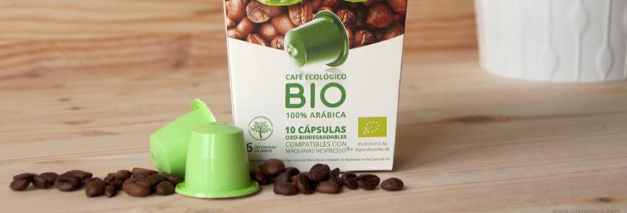 cafe bio en capsules