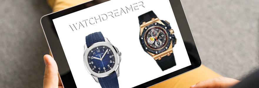 Achat de montres de luxe en ligne