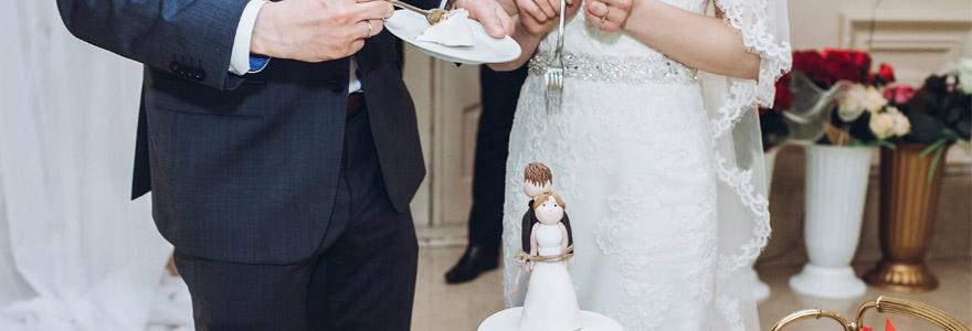 figurines de gateau de mariage