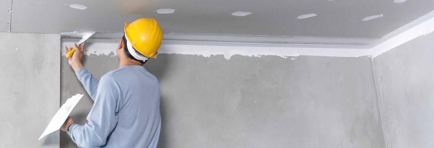 Réaliser des travaux de plafond