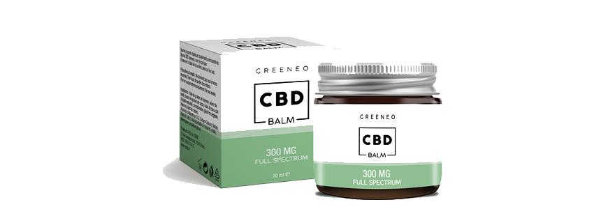 baume anti-inflammatoire au CBD