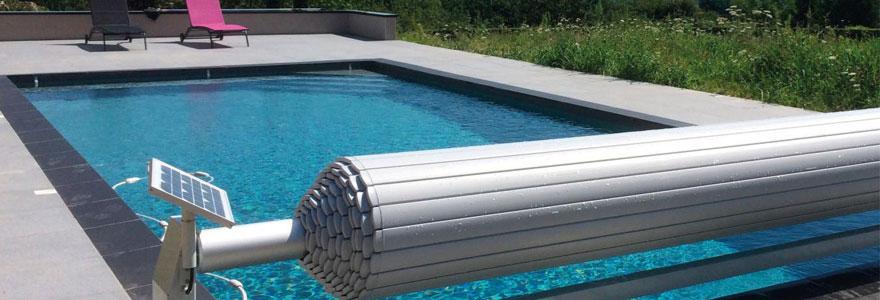 Volet roulant automatique de piscine