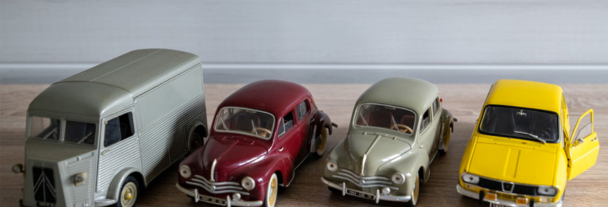 Voitures miniatures de collection